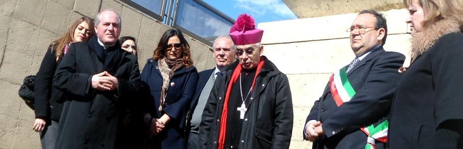 Visita dell'Arcivescovo Pennisi