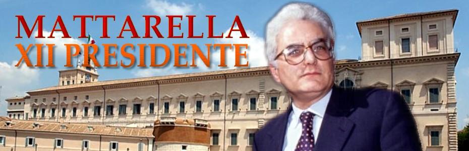 Mattarella XII Presidente