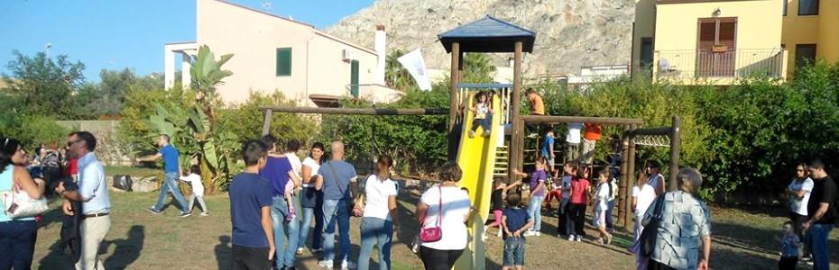 Festa al parco giochi di Isola