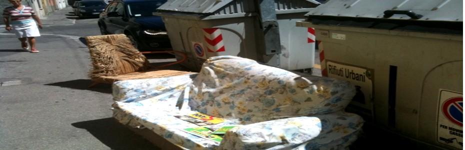 Attivato il numero telefonico per il servizio di ritiro rifiuti ingombranti