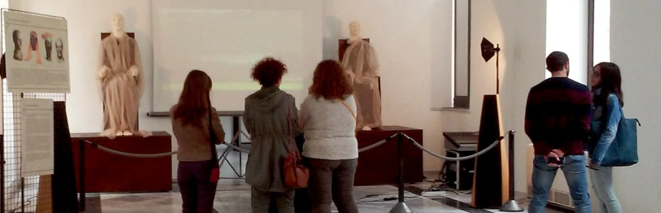 Gli Acroliti esposti a Palermo prima di volare all'Expo