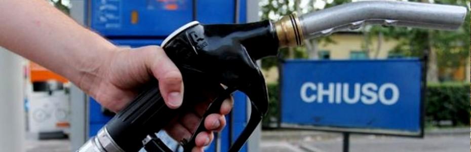 Sciopero dei benzinai in autostrada