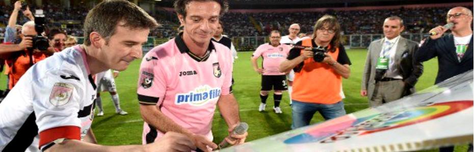 Beneficenza, sport e comicità: Ficarra e Picone si sfidano al Renzo Barbera