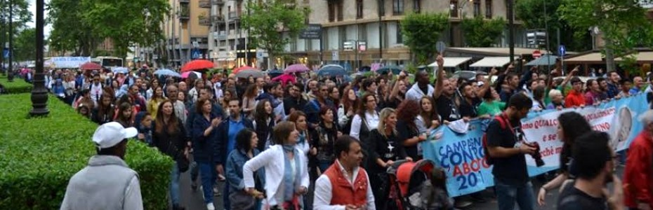 Palermo, 12° marcia per la vita