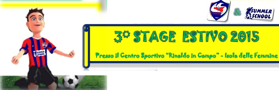 Stage Summer school: due settimane di sport e divertimento