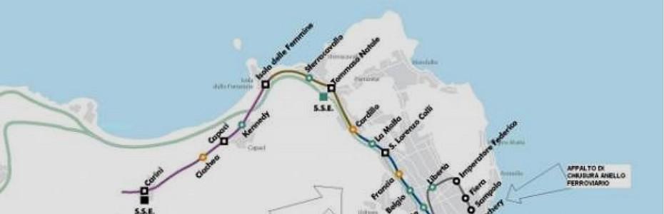 Riapertura tratta ferroviaria Palermo-Punta Raisi, l'inaugurazione rischia di slittare ancora
