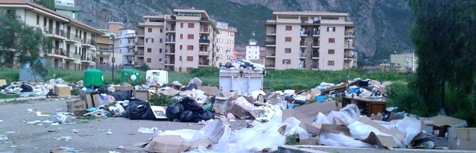 Capaci: emergenza  rifiuti, Napoli applica l'art. 191