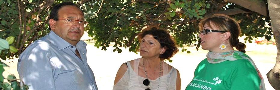 """Zona Falcone abbandonata, gerani secchi. Tina Montinaro: """"Delusa dal sindaco di Isola delle Femmine"""""""