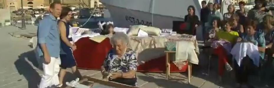 """Le ricamatrici isolane nel programma Rai """"Sereno Variabile"""""""