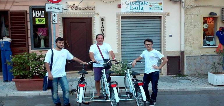 Isola e Capaci, parte il progetto di bike sharing gratis