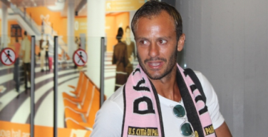 """Gilardino arriva al Palermo: """"Darò tutto per questa maglia"""""""