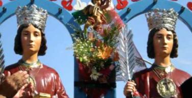 Sferracavallo, blitz in chiesa per derubare le statue dei SS. Cosma e Damiano