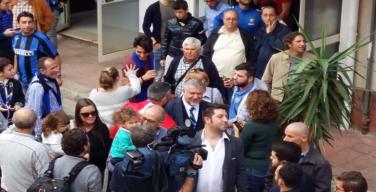 L'ex calciatore Nicola Berti visita l'Inter Club di Isola delle Femmine
