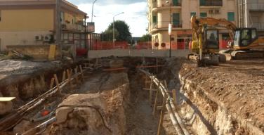 Le immagini del cantiere di Isola delle Femmine per la realizzazione del raddoppio ferroviario