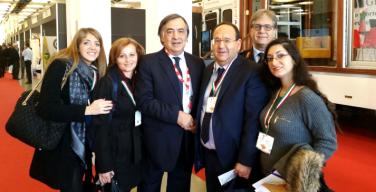 Stefano Bologna con seimila sindaci a Torino alla conferenza dell'Anci per importare nuove idee a Isola delle Femmine