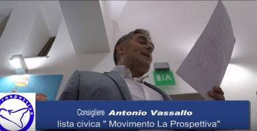 """Capaci, il consigliere Antonio Vassallo si dimette: """"E' la peggiore amministrazione che abbia mai visto"""""""