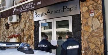 """Palermo, sotto sequestro il ristorante """"Il Baglio degli Antichi Papiri"""""""