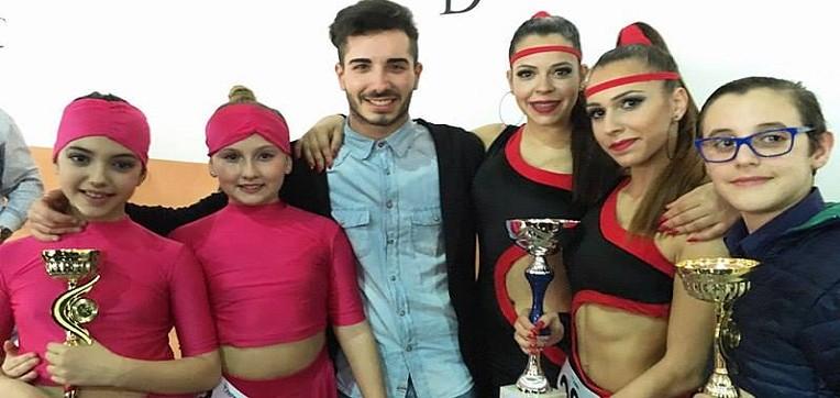 Le ragazze di Capaci trionfano alle nazionali di ballo