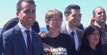 """Di Maio a Terrasini per la campagna elettorale: """"Rimetteremo in sesto il Paese se saremo una comunità"""""""