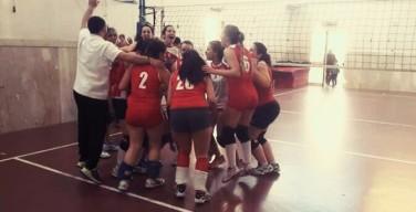 La squadra femminile di pallavolo di Isola delle Femmine promossa in prima divisione