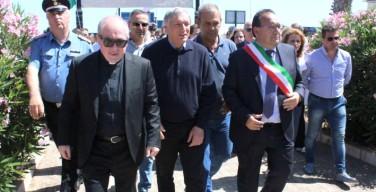 Don Luigi Ciotti a Isola delle Femmine per ricordare Vincenzo Enea, l'imprenditore ucciso dalla mafia