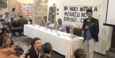 Il comico Roberto Lipari a Capaci in sostegno del Comitato Pizzo Muletta