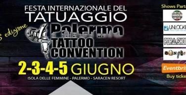 Palermo Tattoo Convention, più di 100 tatuatori da tutto il mondo ad Isola delle Femmine