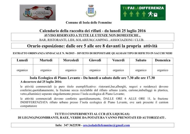 Calendario Raccolta Differenziata Carini 2019.Nuove Regole Sull Organizzazione Della Raccolta