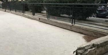 Segnalazione: pista di pattinaggio di Isola delle Femmine in stato di abbandono e degrado