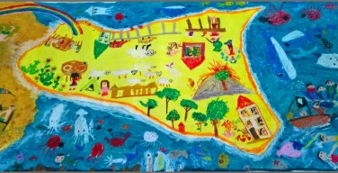 """""""Una stretta di… pennello tra Sicilia e Giappone"""": mostra di murales al castello di Carini"""