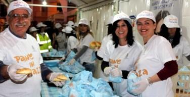 """""""Pane in piazza"""" ad Isola delle Femmine: tre giorni di distribuzione di prodotti da forno"""