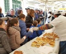 """Ad Isola delle Femmine torna il """"Pane in piazza"""": degustazioni, corteo medievale e minestrone di San Giuseppe"""