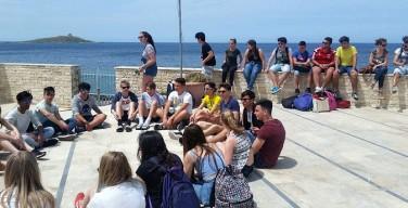 Progetto Erasmus, quaranta ragazzi da cinque paesi europei alla scoperta del mare di Isola delle Femmine