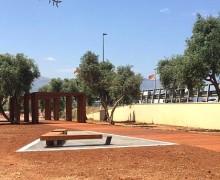 """Un ulivo in memoria dell'agente Gaetano Cappiello nel giardino della memoria """"Quarto Savona 15"""""""