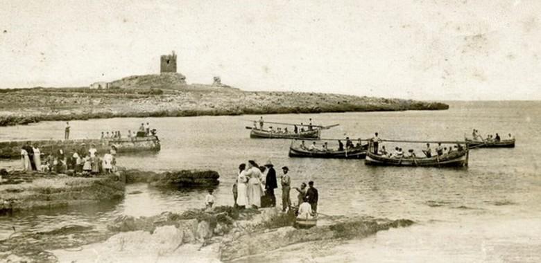 La storia  della marineria di Isola delle Femmine, dal paleolitico ad oggi