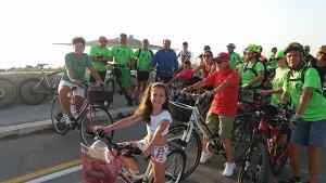 pedalando isolotto
