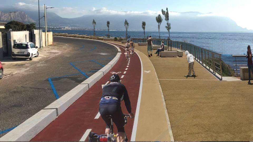 La pista ciclabile e il lungomare che vogliamo ad Isola delle Femmine [SONDAGGIO]