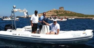 Riparte il servizio di vigilanza della polizia municipale nell'area marina protetta di Isola-Capo Gallo (VIDEO)