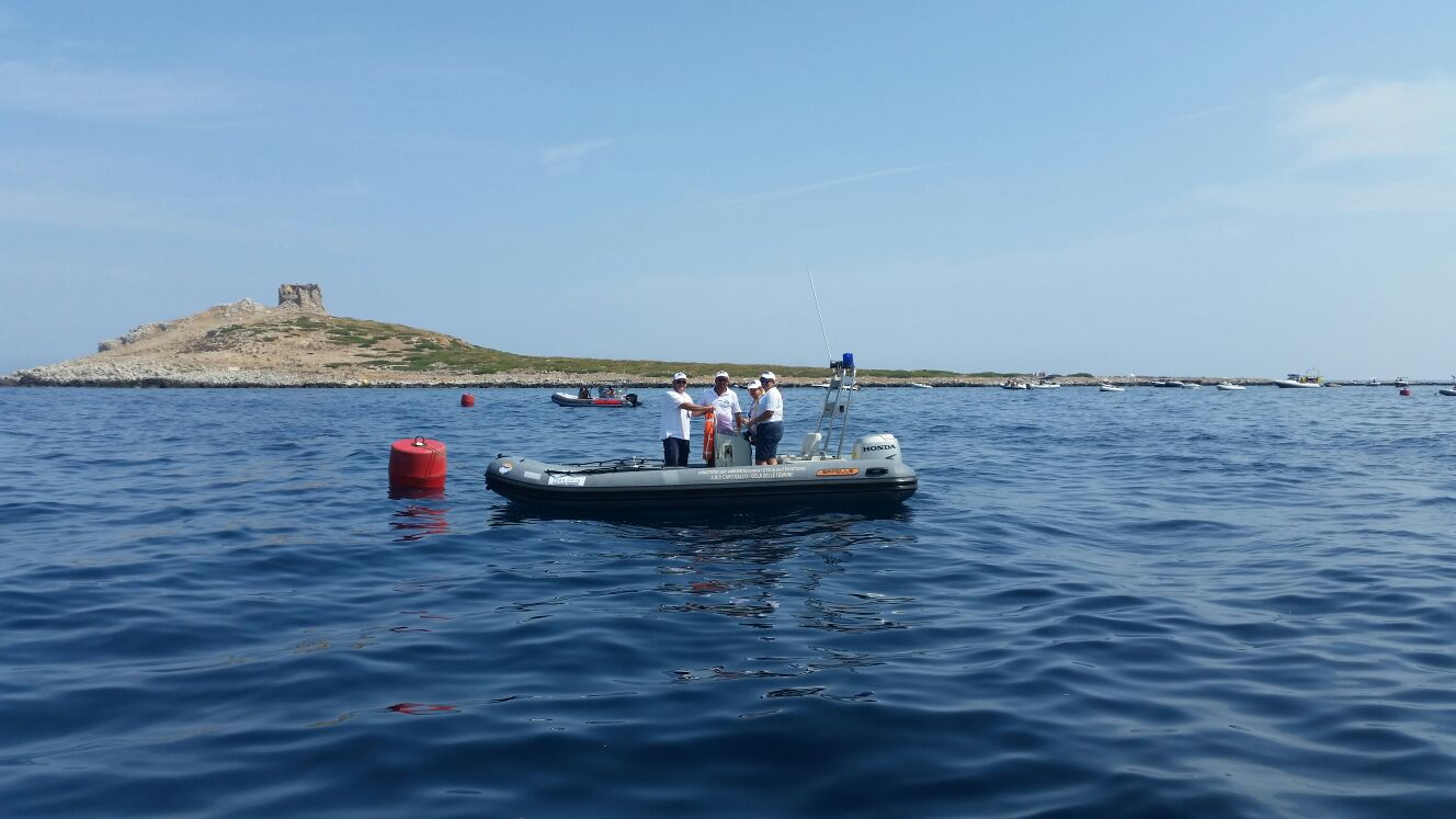 Tornano le boe di delimitazione dell'area marina protetta di Capo Gallo-Isola delle Femmine