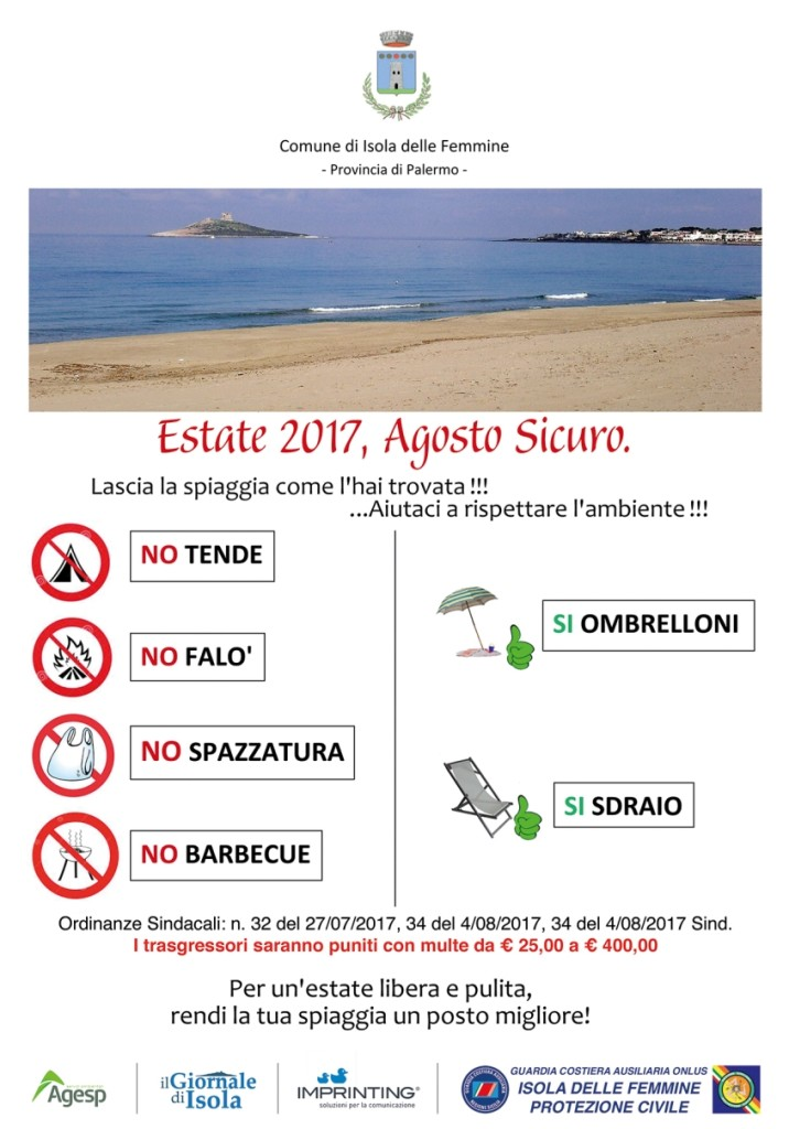 Spiagge Pulite 100x140
