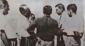 Joe Di Maggio ad Isola delle Femmine nel 1955