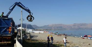 Isola delle Femmine si prepara al ferragosto: pulizia spiagge, no a tende, falò e droni