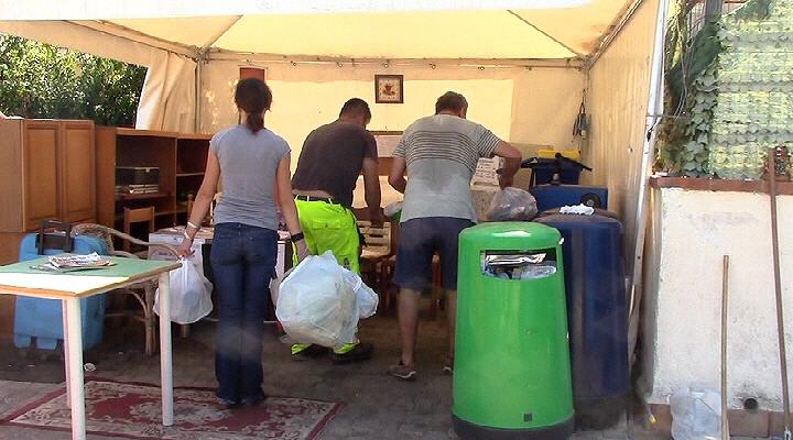 Quasi 400 cittadini all'Isola Ecologica di Isola delle Femmine per il primo giorno di tariffazione puntuale (VIDEO)