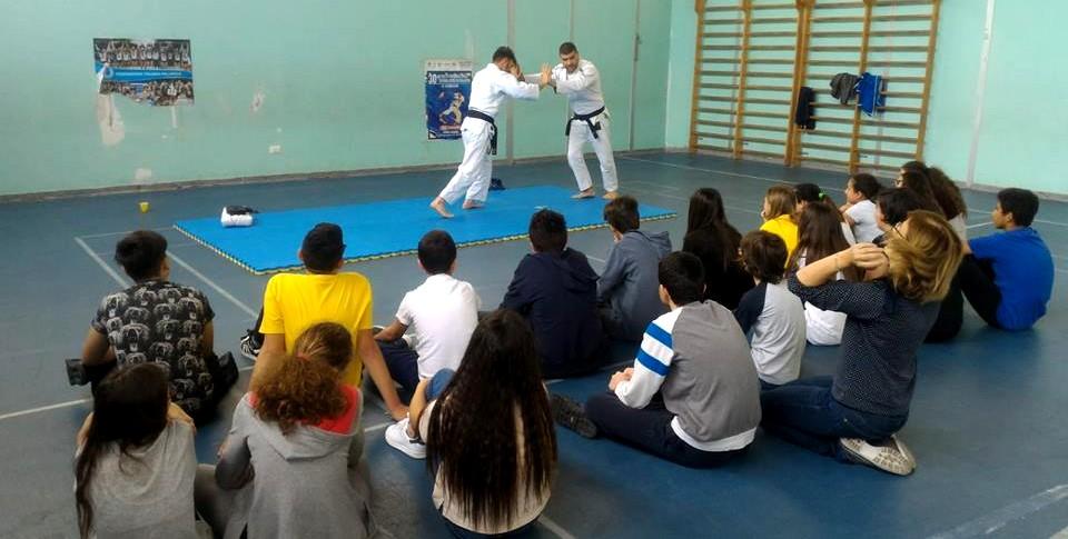 Isola delle Femmine, Ju-jitsu a scuola contro il bullismo (VIDEO)