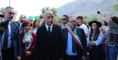 23 maggio, il ministro Minniti visita il giardino della memoria di Isola delle Femmine (VIDEO)