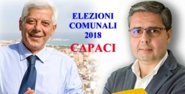Capaci, elezioni amministrative 2018. A sfidarsi sono Pietro Puccio ed Erasmo Vassallo