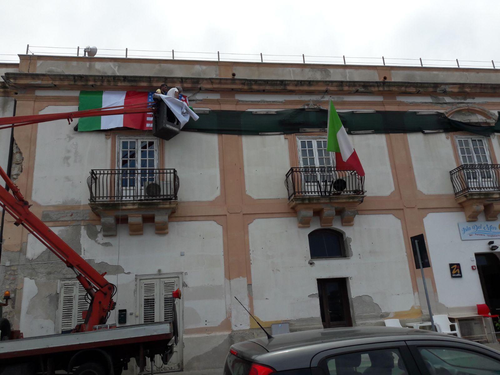 Cominciano i lavori di ristrutturazione del Palazzo Comunale di Isola delle Femmine