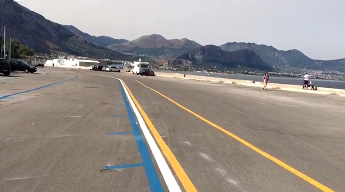 Come cambia via Vespucci: area pedonale, pista ciclabile e strisce blu