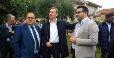 Dal giardino della memoria di Isola delle Femmine parte il tour elettorale di Matteo Richetti (Pd) | VIDEO