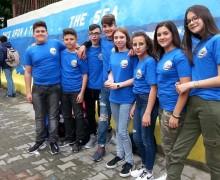 """Giovani studenti della scuola di Isola delle Femmine in Romania per il progetto Erasmus """"Once upon a time… the sea"""""""